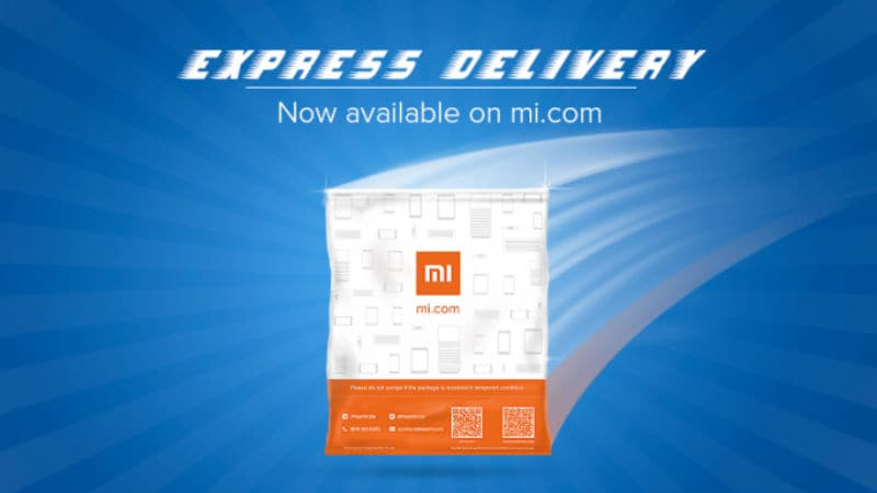 Xiaomi Express Delivery