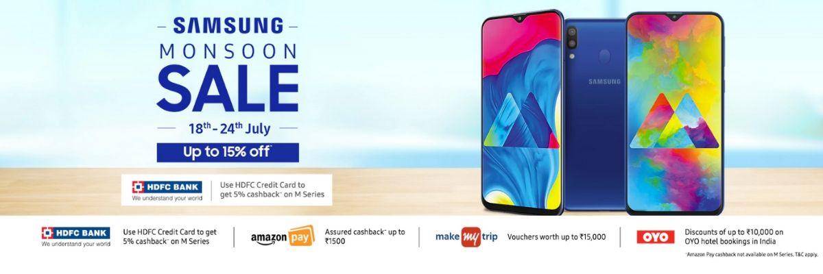 Samsung Monsoon Sale