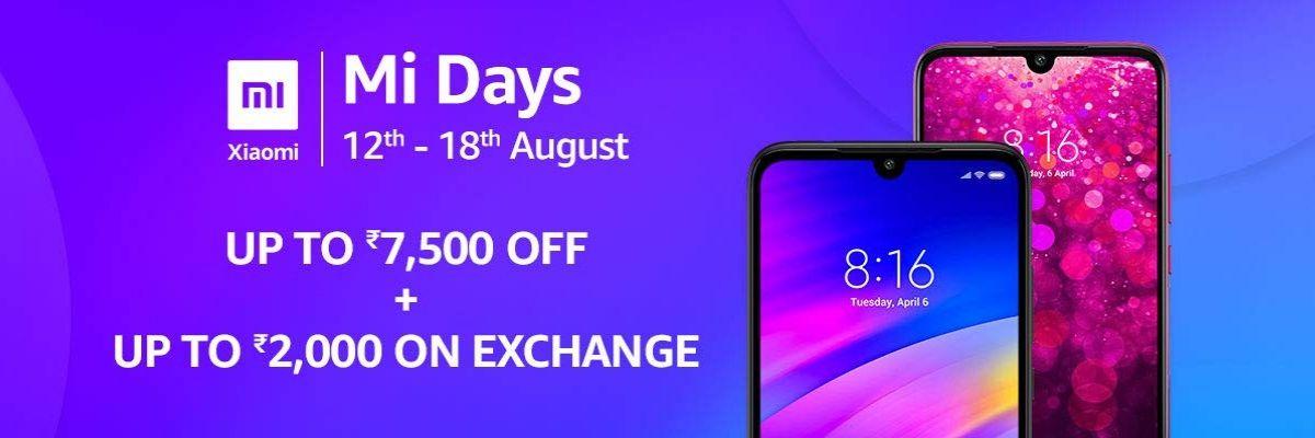 Mi Days Sale 2019
