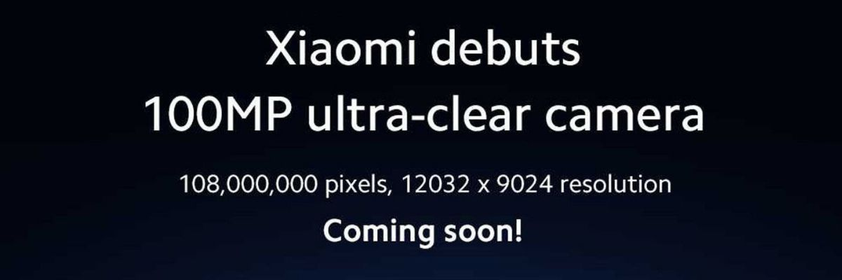 Xiaomi 100 Megapixel Camera