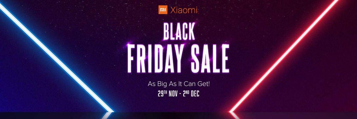 Xiaomi's Mega Black Friday Sale