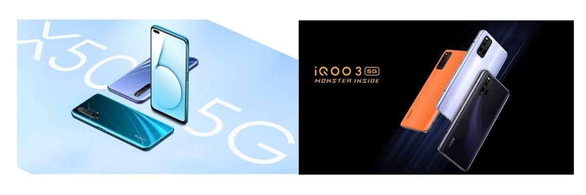 Realme X50 Pro 5G and iQoo 3 5G