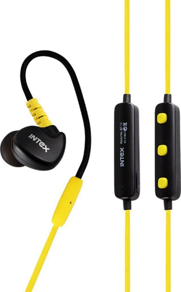 Intex BT-13 Wireless Sports Bluetooth Earphones
