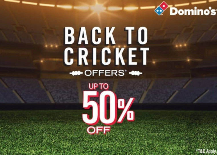 Domino's IPL Offer - Get Upto Rs.100 OFF