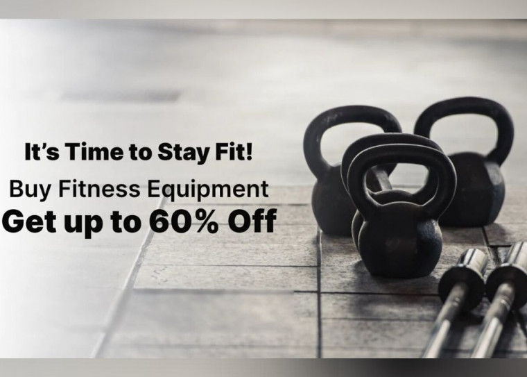 Get Upto 60% OFF on Fitness Equipments