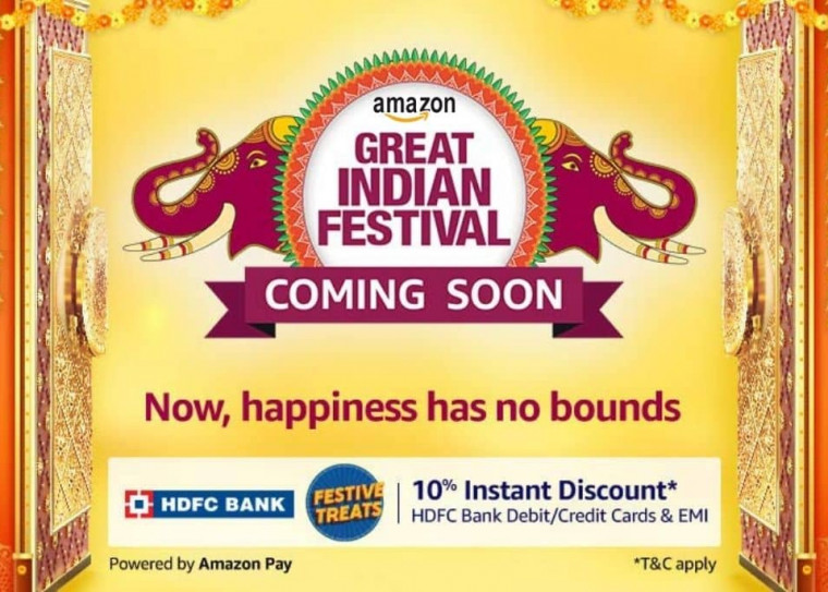 Amazon Great Indian Festival Sale - Starts Soon