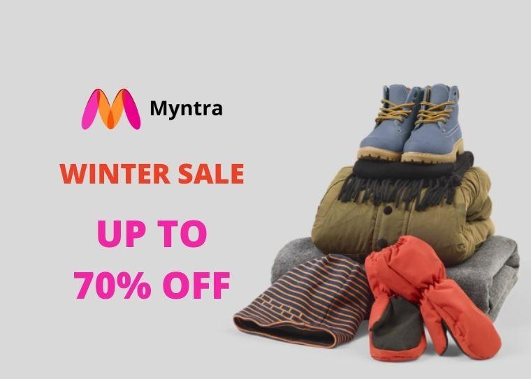 Myntra Winter Sale