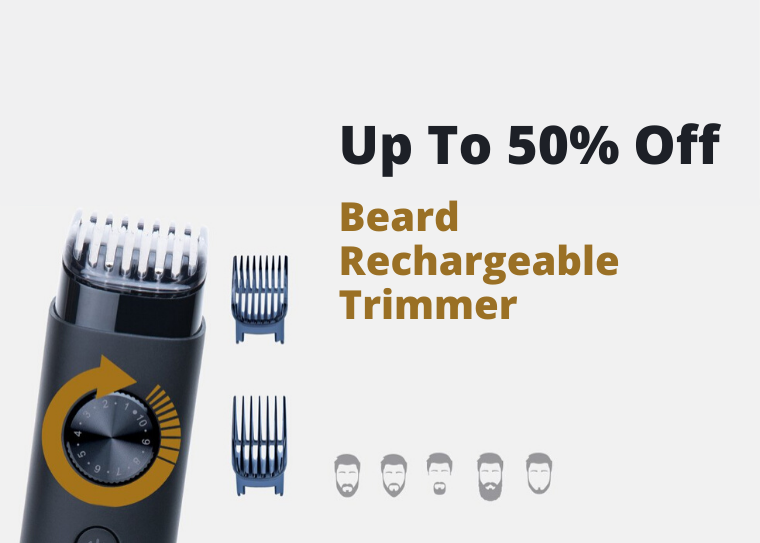 Best offer on Beard  Rechargeable  Trimmer