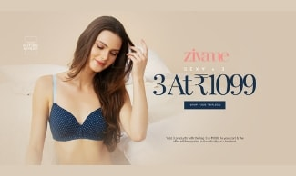 Bra Sale - Buy 3 Bras @ Rs 1099
