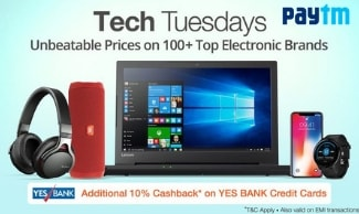 Paytm - The Electronics Sale - Get Rs 11000 Cashback