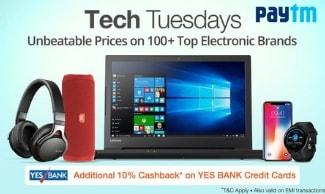 Paytm - The Electronics Sale - Get Rs 11000 Cashback