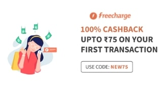 Get 100% Cashback on Recharge/Bill Payments - New Users