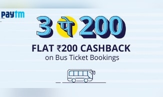 New Offer - Get 50% Cashback On Bus Tickets