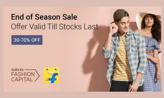 Fashion Special Deals - Flat 30% - 80% Off | All Users