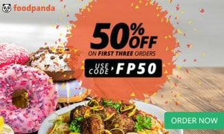 Foodpanda Offers Flat Rs 100 OFF On Food Orders (New Web & App Users)